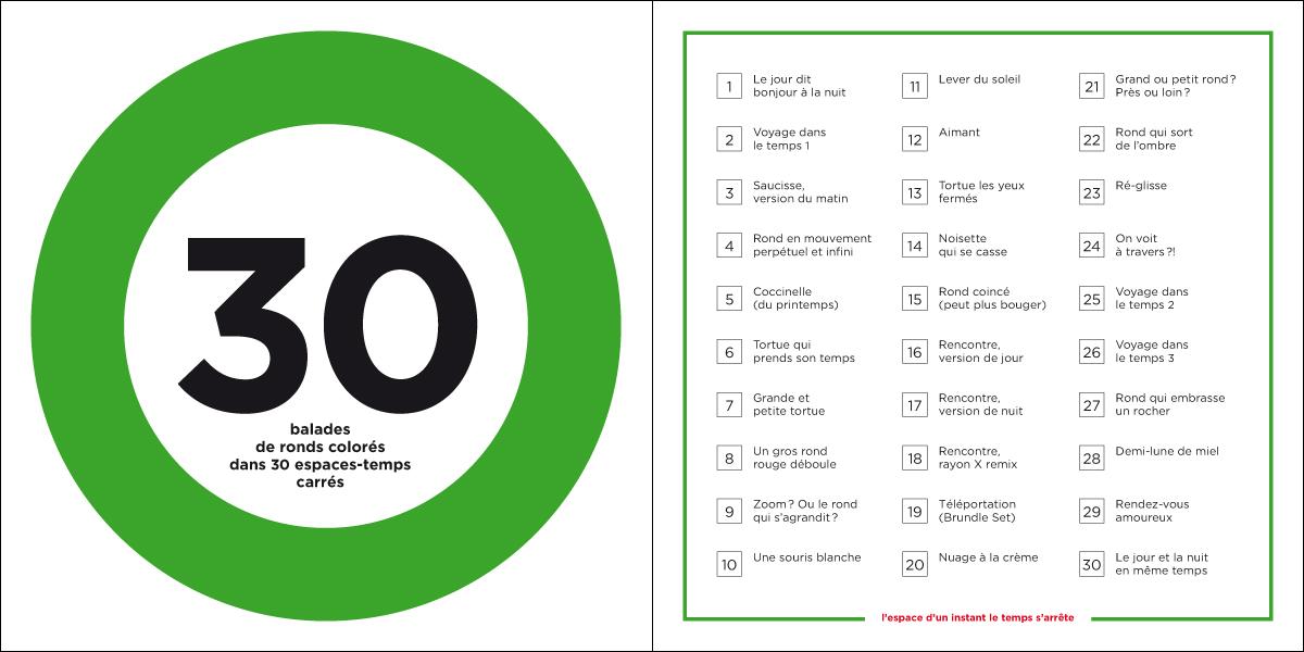 30 balades de ronds colorés – boîte