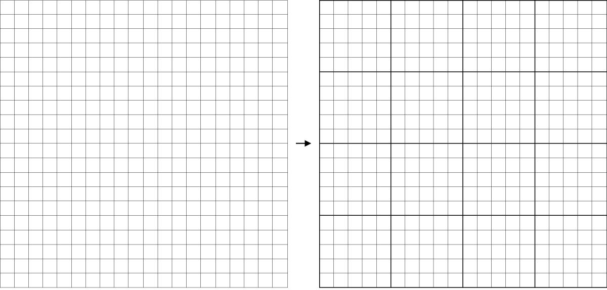 1. Création de la grille de base
