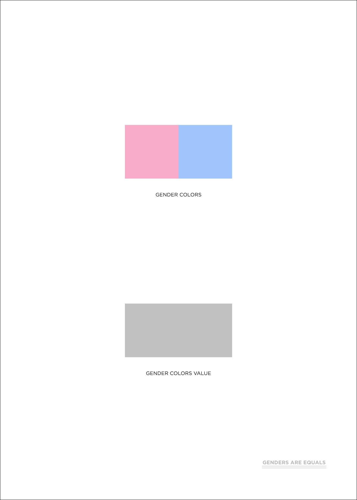 Pour l'égalité des genres (gender equality), variante 1