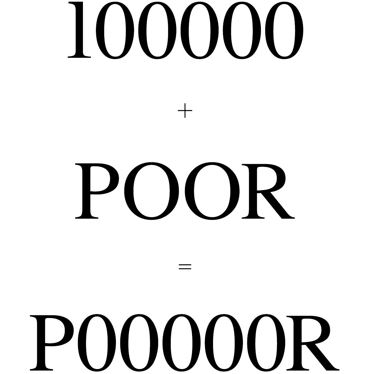 Logo Riche et Pauvre / Rich and Poor