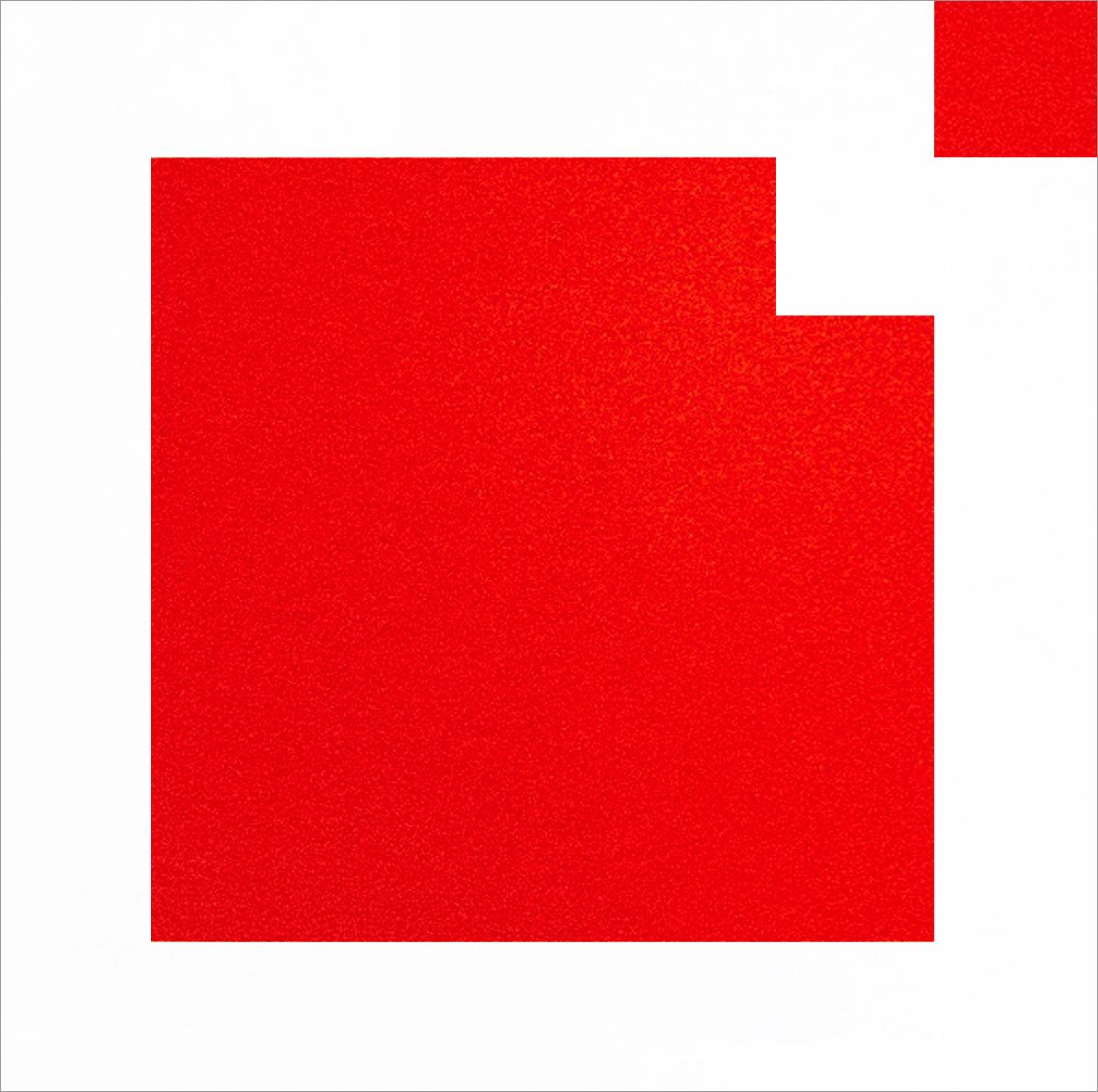 Peinture Minimal Space – 50x50 / Peinture acrylique sur toile, vernis brillant