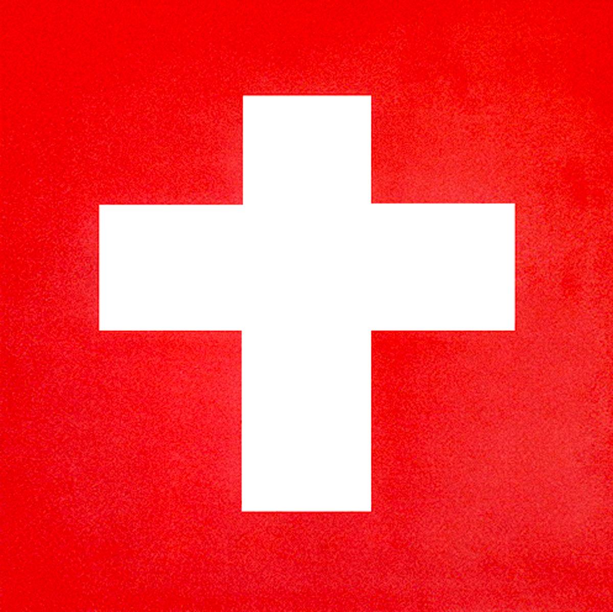 Signe singe - croix suisse 2