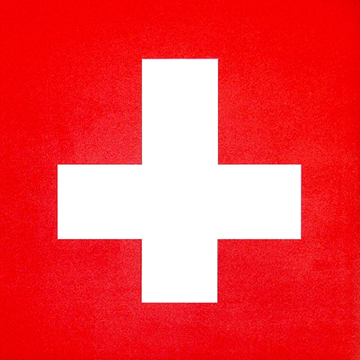 Signe singe - croix suisse 2.3